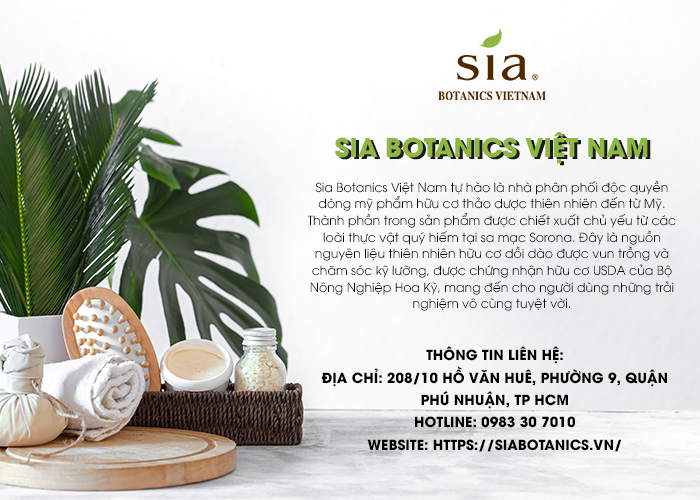 Sia Botanics Việt Nam - 02