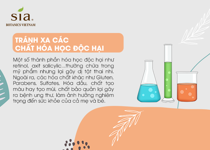 Tránh xa các chất hóa học độc hại - 03